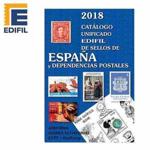 Catálogo Unificado De Sellos De España Y Dep. Postales