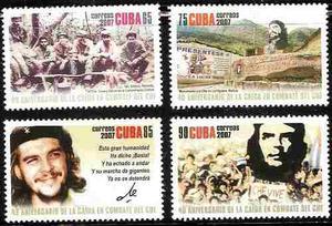 Che Guevara - Caida En Combate - Serie Compl. Cuba  -