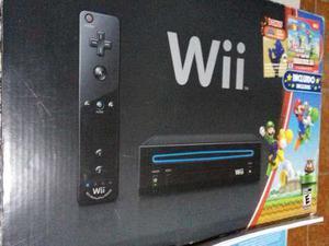 Consola Nintendo Wii + New Super Mario Bros + Guitarra C/cd