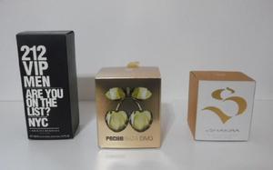 Frascos De Perfume Vacíos.