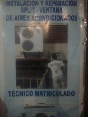 Instalacion y reparación de aires acondicionado