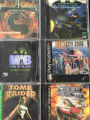Juegos Para Playstation 1 Lote X6 Usados