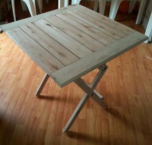 Mesa para telefono de madera de pino nueva2 posot class - Mesa madera pino ...