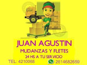 Mudanzas y Fletes Juan Agustin 24 horas 154682659