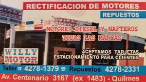 Rectificadora de motores y tapas de cilindro (en Quilmes)