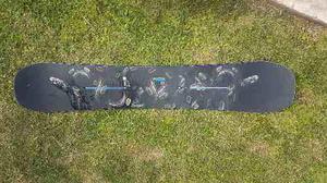 Snowboard Burton Process 155 + Fijaciones Burton. Tempo 2016