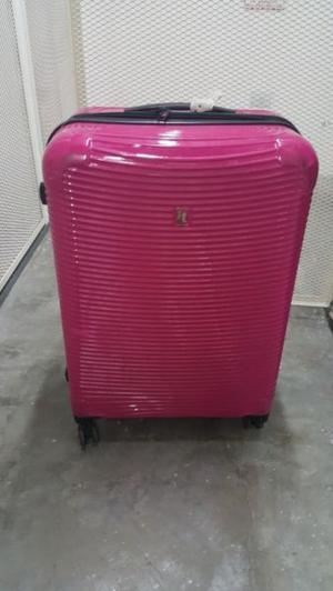 Valija de fibra rigida.24 LTS.Marca IT Luggage 4 ruedas