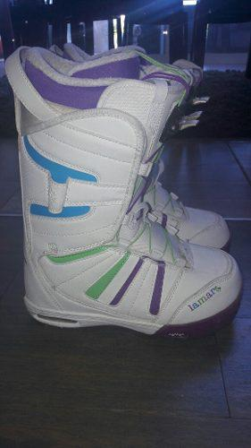 Vendo Botas De Snowboard Mujer Taller 8