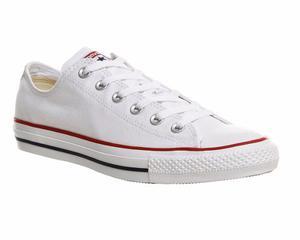 Zapatillas Converse All Star !! Blanco Rojo! 100% Original!