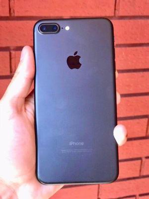iPhone 7 Plus 128 Gb Black Mate Excelente Estado No Permuto