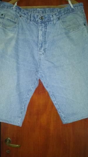 2 bermudas de jeans hombre t54 usadas