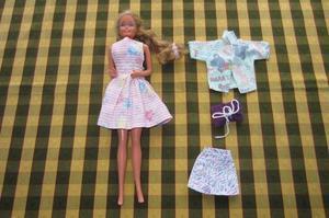 Barbie de pelo largo, original Mattel!!!, 1966!,