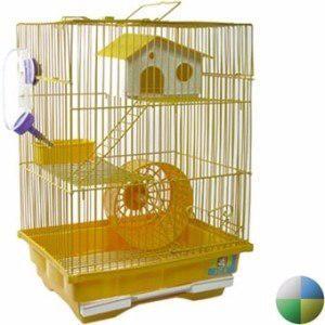 Hamstera Jaula Hamster 2 Pisos Completa Pet Shop Beto