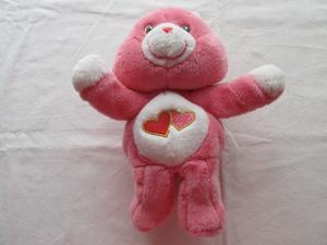Peluche de Osito Cariñoso que mueve abrazos, color rosa,