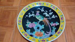 Platos de adorno para colgar, japoneses, grandes! $450 c/uno