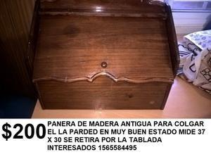 ANTIGUA PANERA DE MADERA