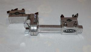 Adaptador Mapex Ac903 Clamp P/bateria 2 Bocas Pinza Multiple