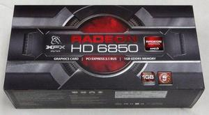 Ati Radeon Hd 6850 1gb Ddr5 256bits In Box Outlet En Caja !