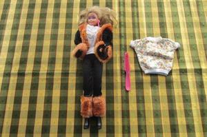 Barbie con rulos, original Mattel!!!, 1966!!!, Argentina!!,
