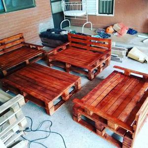 Juego de jardín en madera