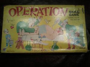 Juego de mesa operacion retro original U.s.a.