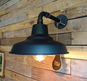 Lámpara Galponera Aplique Industrial