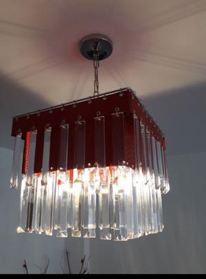 Lámparas con cAireles de vidrio
