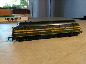 Locomotora diesel Marklin