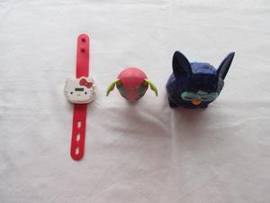 Lote de 3 juguetes variados de Mac Donald's para nena, ,