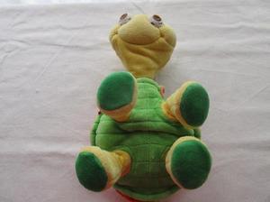 Peluche de tortuga con articulaciones, marca Tini Love!!!,
