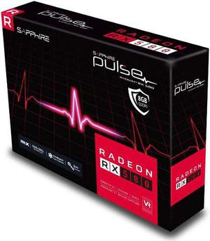 Placa De Video Radeon Rx 580 8gb Gddr5 Hdmi / Display Port
