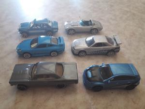Vendo autos de rápido y furioso hotweels