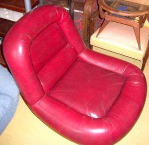 raro par de sillones bajos sixties diseño retro vintage 60