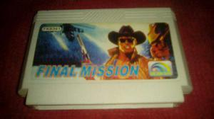 Cartucho Family Game Final Mission. Zona Norte.