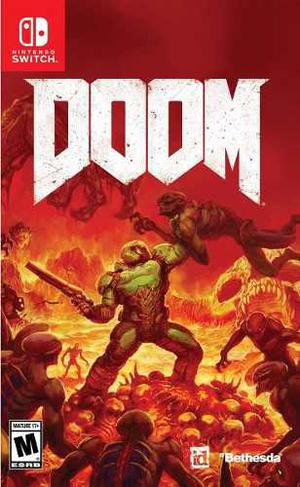 Doom Juego Físico Nintendo Switch Original Sellado