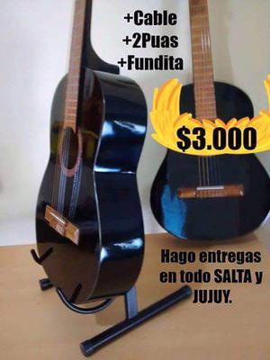 Guitarras Electro - Criollas. Clasicas.