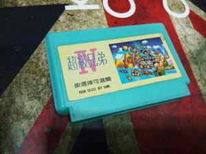 Juego Super Mario Iv 4 Family Game 90s
