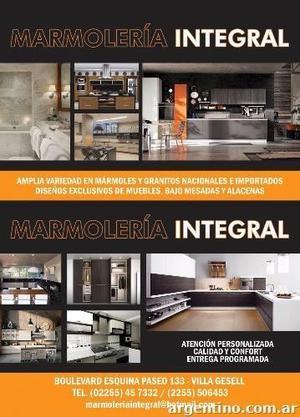 Marmoleria Integral Villa Gesell