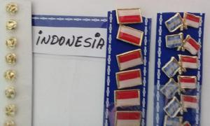PINS BANDERA INDONESIA DOS MODELOS DE 2 CMS