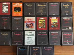 Pack De Juegos Atari (se Venden Todos Juntos)