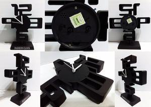 Reloj de Diseño 3D de Mesa