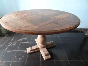 mesa roble, mesa melamina $900