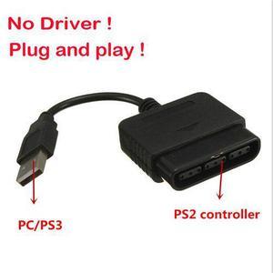 Adaptador Joystick Play Station 2 Ps2 A Usb 2.0 Pc Ps3