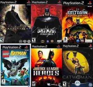 Batman Collection Ps2 Sony Playstation 2 (6 Discos)