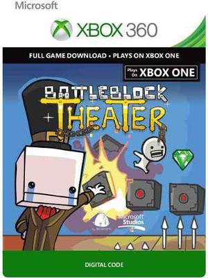 Battleblock Theater - Xbox 360 Código Digital - Agdq 2018