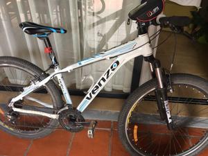 Bici MB Venzo rodado 27 y 1/2 casi sin uso
