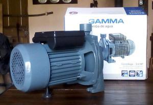 Electrobomba de agua centrífuga 3/4 HP Gamma CP 80 con