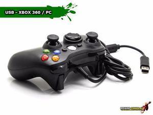 Joystick Xbox 360 Con Cable Usb Compatible Pc 2.5mt Rosario
