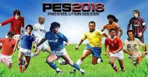 Pes 18 Winning Legends Ps2 Edicion Especial Clasicos Novedad