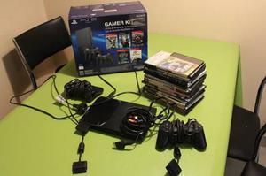Play Station 2 Completa + Juegos De Regalo